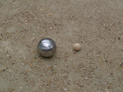 Boules in Paris