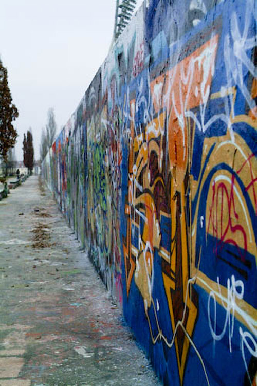 Berlin Wall grafitti
