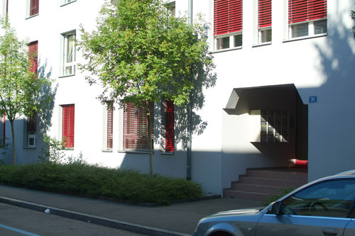 Our apartment in Basel