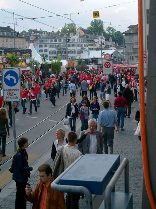 Pictures from Zurich - Switzerland vs. Turkey in Euro2008