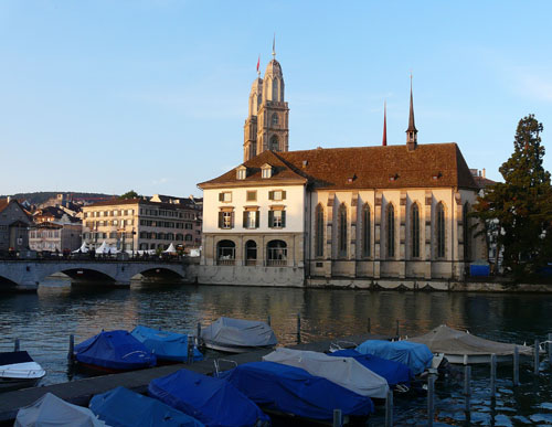 Views across the Limmat