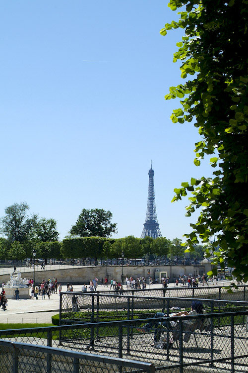 Tour Eiffel from the Jardins des Tuileries