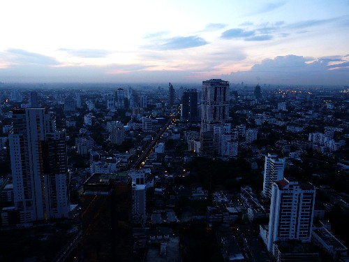 Sunrise over Bangkok