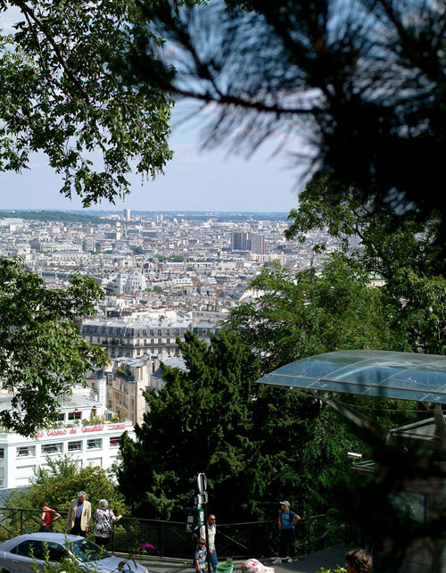 Views of Paris from Monmartre