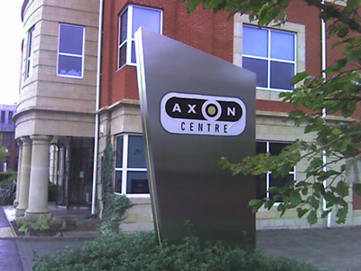 AxonCentre sign