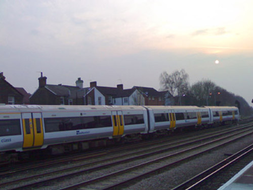 Train at Tonbridge