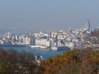A view of the Asian side of Istanbul