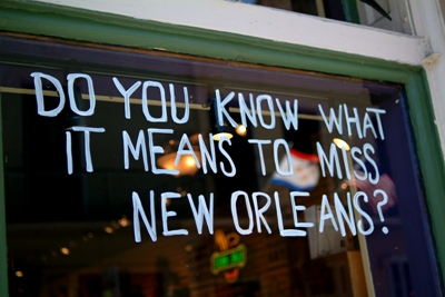 Miss New Orleans?