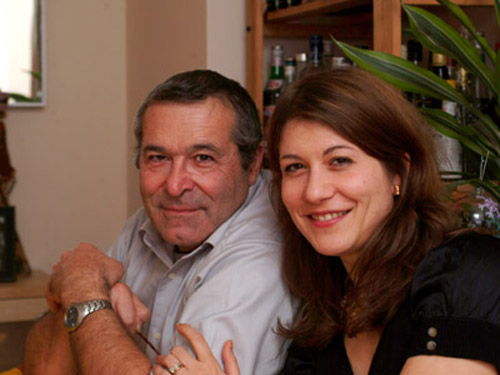 Aude and her father