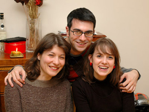 Aude, Matt and Karine